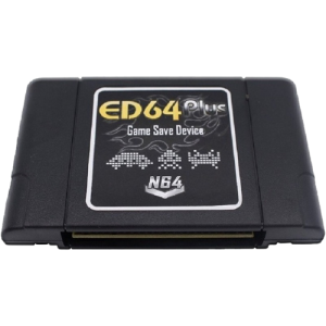Cartucho con SD Nintendo 64 Ed64+ tipo Everdrive sd Cart PAL/NTSC