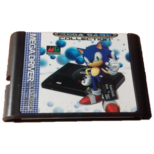 Mega Everdrive SD flash Cart SEGA Genesis / MEGADRIVE + GTIA TOTAL 12 MESES ESCRITA