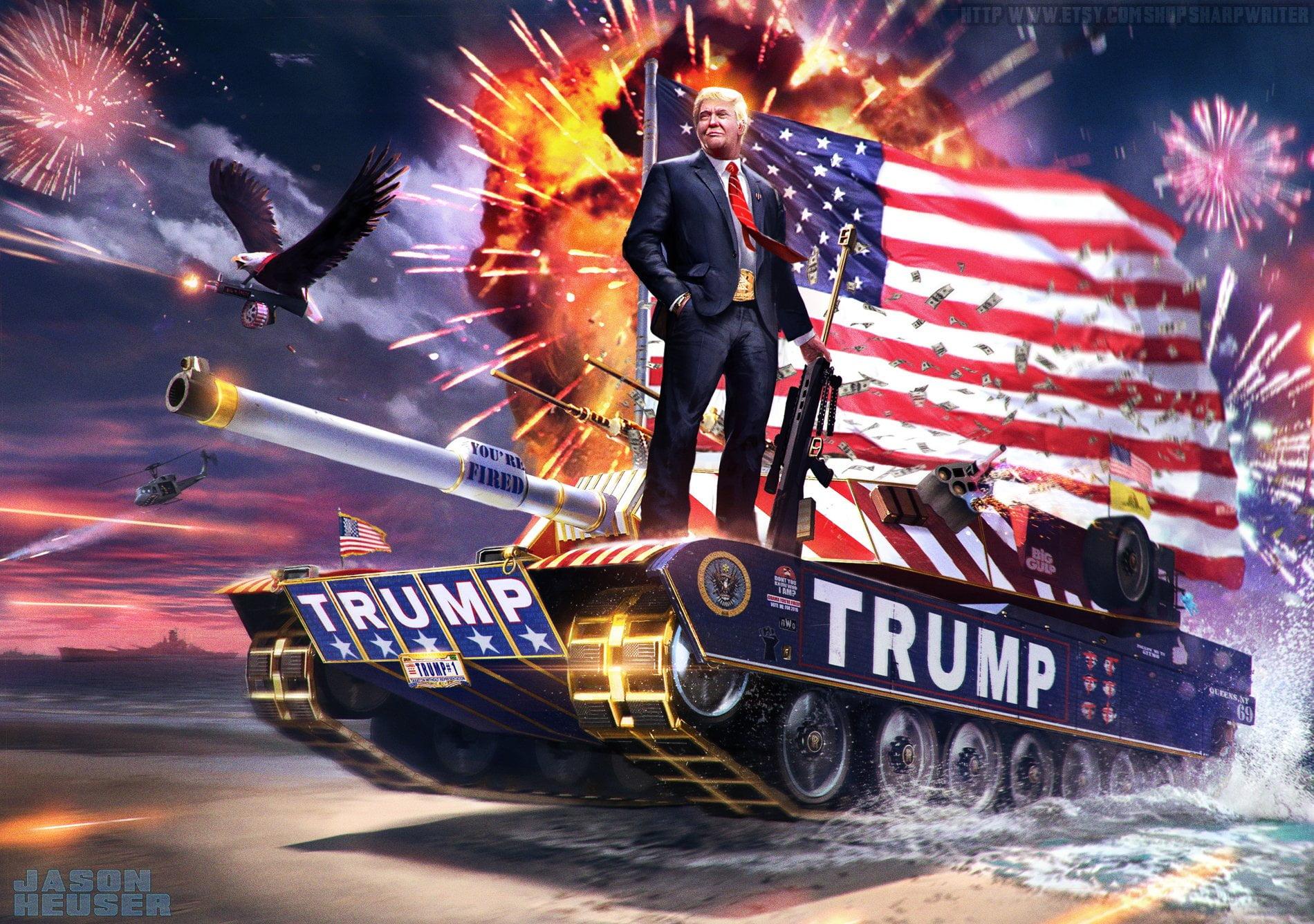 Trump Contra Redes y Videogames